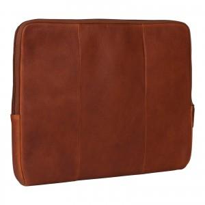 """Kožený obal na notebook 13,3"""" Burkely Lenok - koňak"""