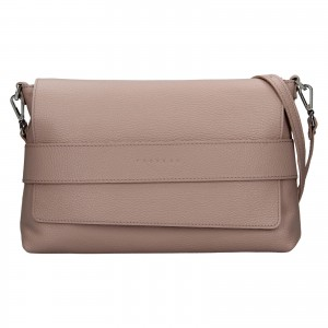 Dámská kožená kabelka Facebag Fabia - růžová