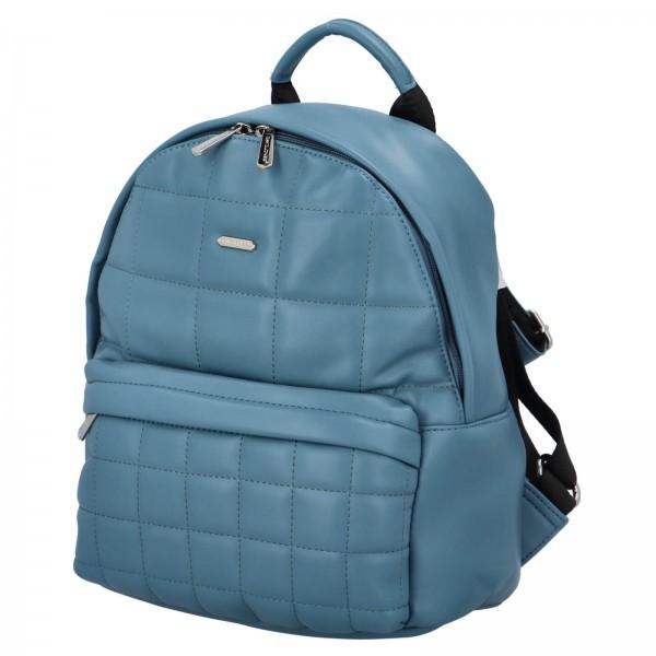 Módní dámský batoh David Jones Izolle - modrá