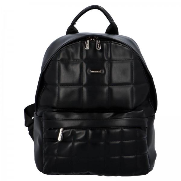 Módní dámský batoh David Jones Izolle - černá