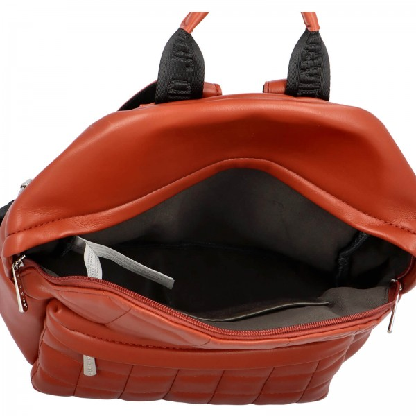 Módní dámský batoh David Jones Izolle - koňak
