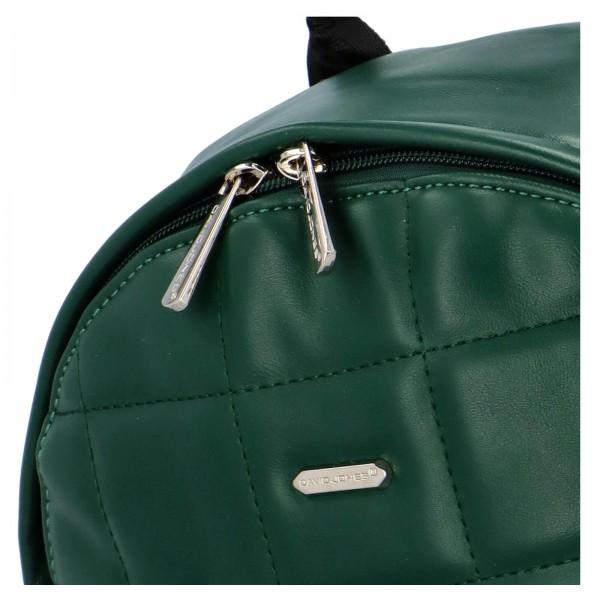 Módní dámský batoh David Jones Izolle - zelená