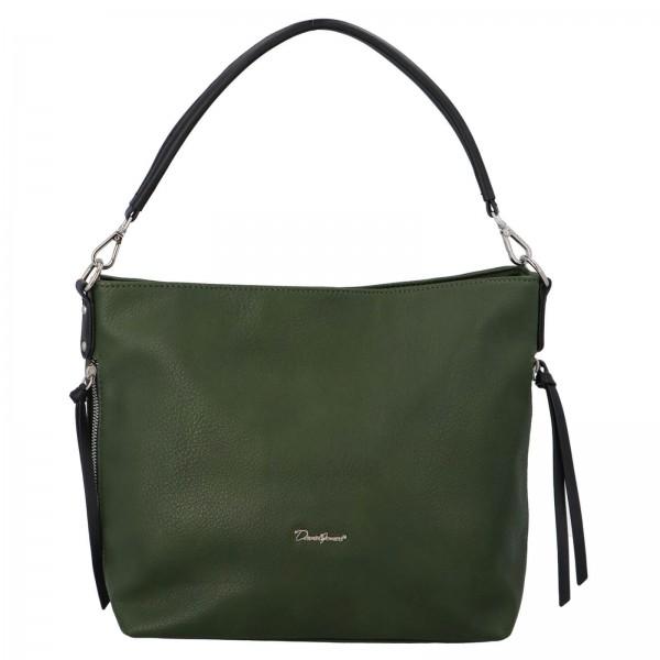 Dámská kabelka David Jones Aniala - zelená