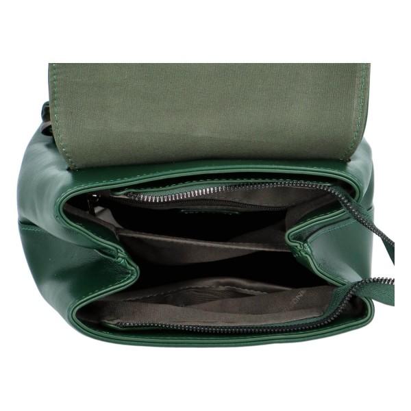 Módní dámský batoh David Jones Jennas - zelená