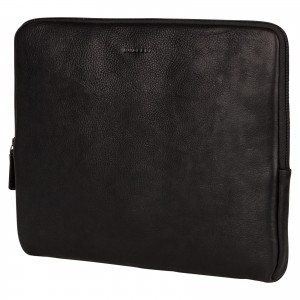 "Kožený obal na notebook 13,3"" Burkely Lenok - černá"