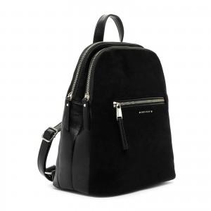 Elegantní dámský batoh Emily & Noah Devonas - černá