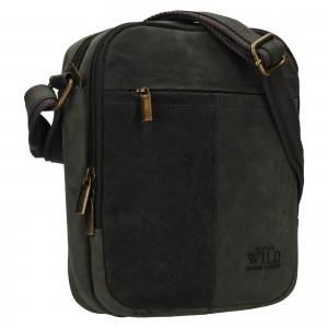 Pánská taška přes rameno Always Wild Nikolas - černá