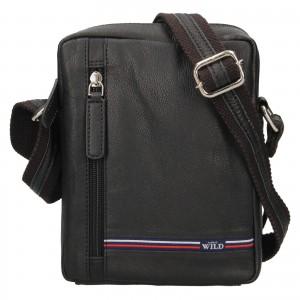 Pánská taška přes rameno Always Wild Borek - černá