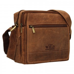 Pánská taška přes rameno Always Wild Nikoles - koňak