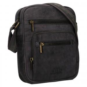 Pánská taška přes rameno Always Wild Luken - černo-šedá