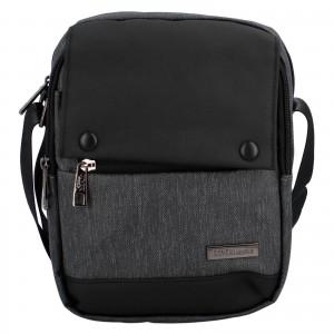 Pánská taška přes rameno Coveri World Liam - černá