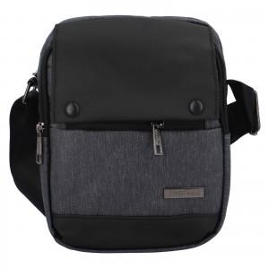 Pánská taška přes rameno Coveri World Liam - tmavě šedá
