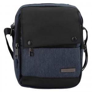 Pánská taška přes rameno Coveri World Liam - modrá