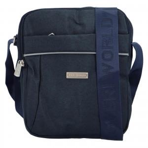 Pánská taška přes rameno Coveri World Callum - modrá