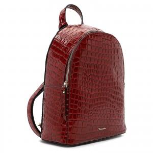 Dámský batoh Tamaris Anastase - tmavě červená