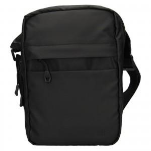 Pánská taška přes rameno 4F Jacob - černá