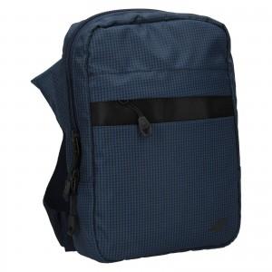 Pánská taška přes rameno 4F Jacob - modrá