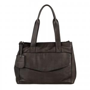 Dámská kožená kabelka Burkely Petra - černá