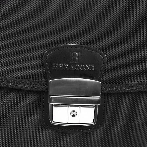 Pánská aktovka Hexagona Lyon - černá