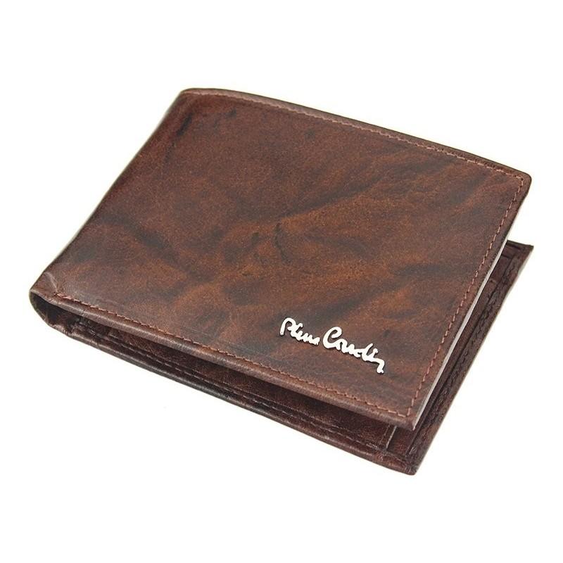 Pánská kožená peněženka Pierre Cardin Robert - hnědá