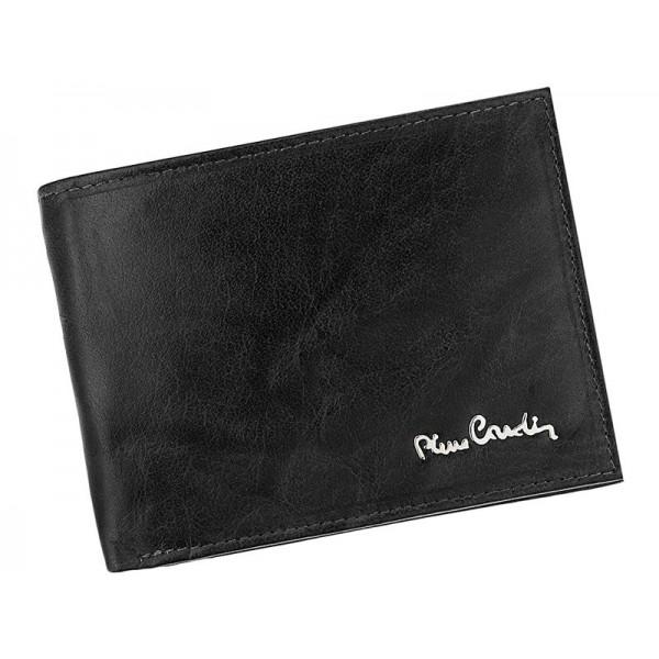 Pánská kožená peněženka Pierre Cardin Robert - černá
