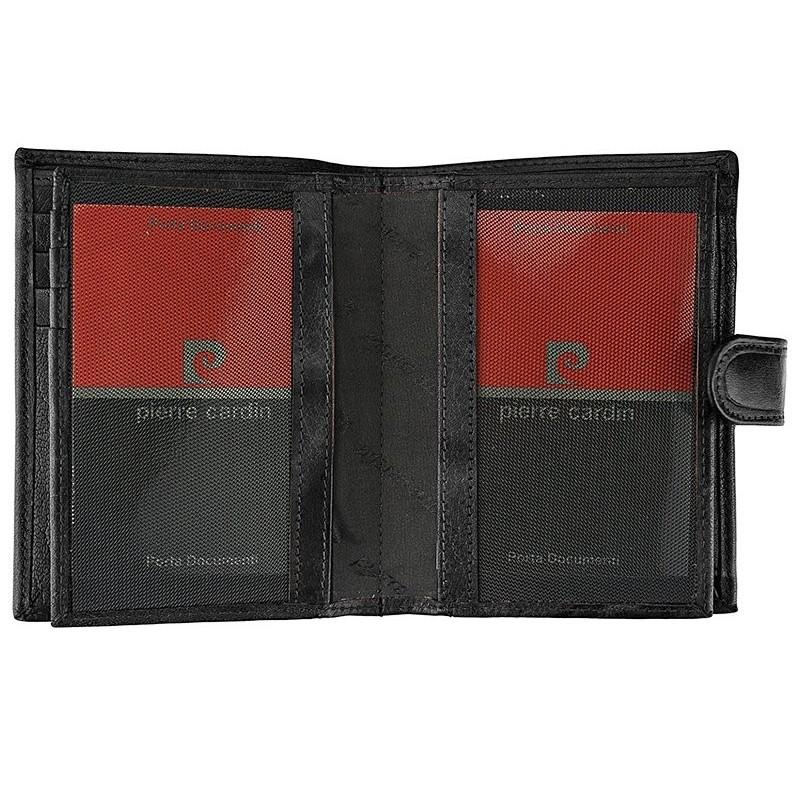Pánská kožená peněženka Pierre Cardin Fredderic - černá