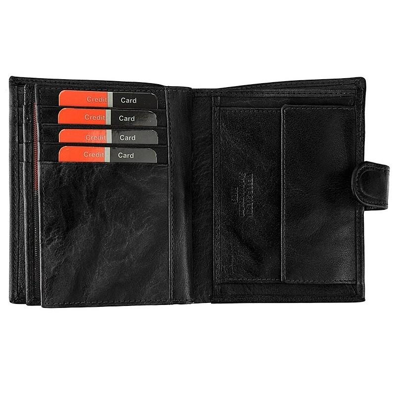 Pánská kožená peněženka Pierre Cardin Fredderic - hnědá
