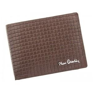 Pánská kožená peněženka Pierre Cardin Juan - hnědá