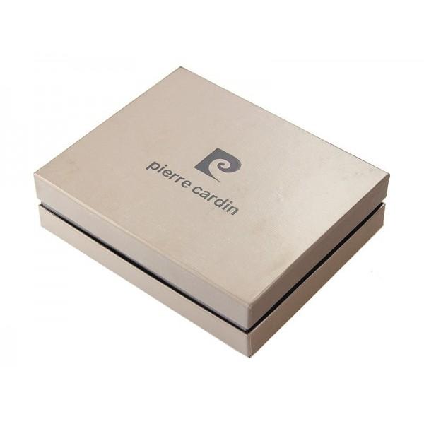Pánská kožená peněženka Pierre Cardin Gussepe - černá