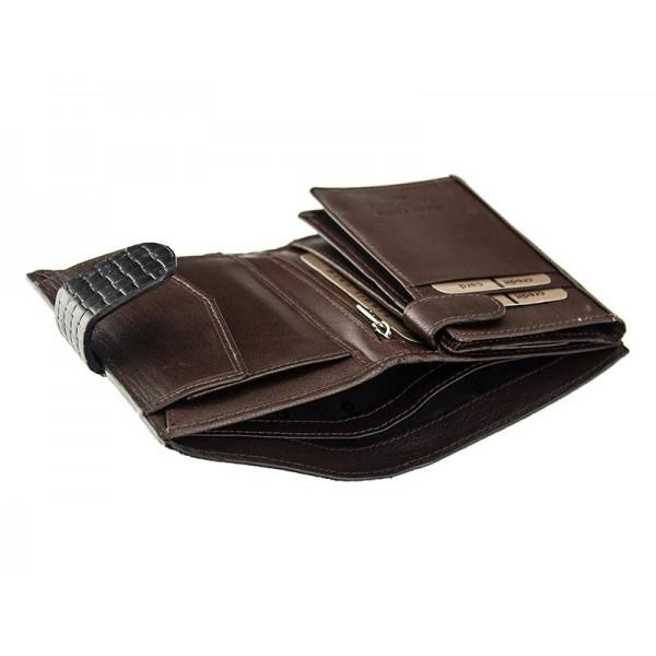 Pánská kožená peněženka Pierre Cardin Gussepe - hnědá