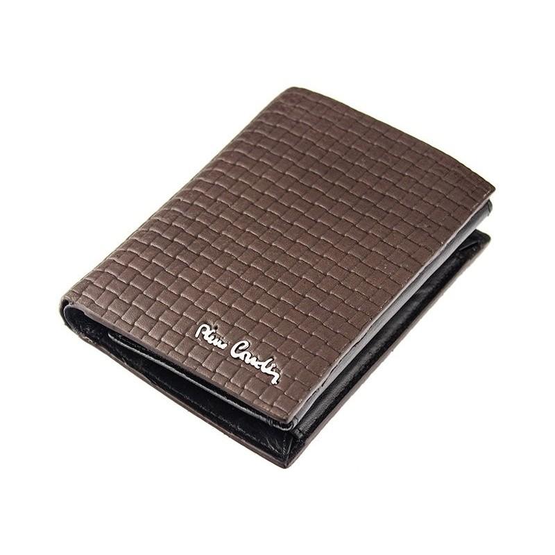 Pánská kožená peněženka Pierre Cardin Monet - černá