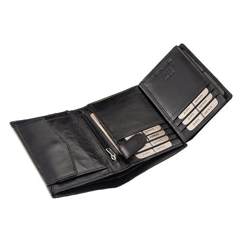 Pánská kožená peněženka Pierre Cardin Monet - hnědá