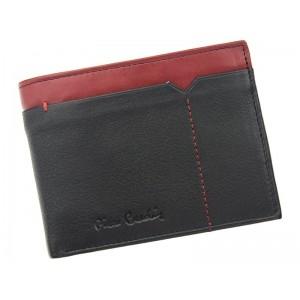 Pánská kožená peněženka Pierre Cardin Norel - černo-červená