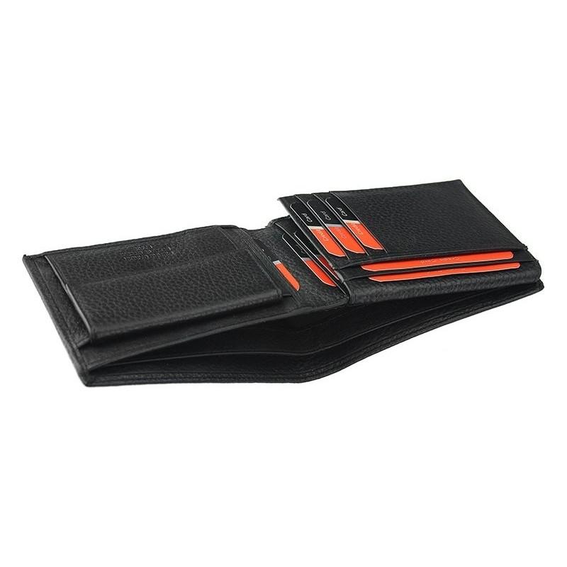 Pánská kožená peněženka Pierre Cardin Donoven - černá
