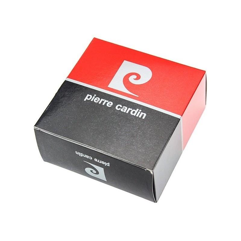 Černý pánsky kožený opasek Pierre Cardin LG0111/35 - černá