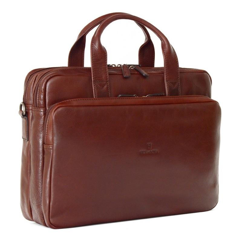 bb94031b7d Pánská kožená taška přes rameno Hexagona 129479 - koňak
