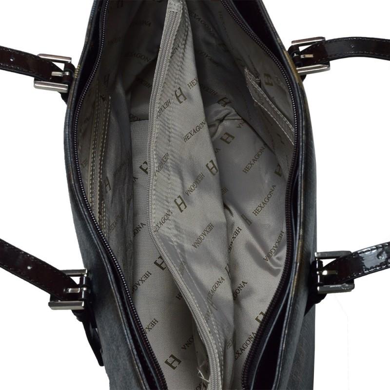 Dámská kabelka Hexagona Brenda - hnědá