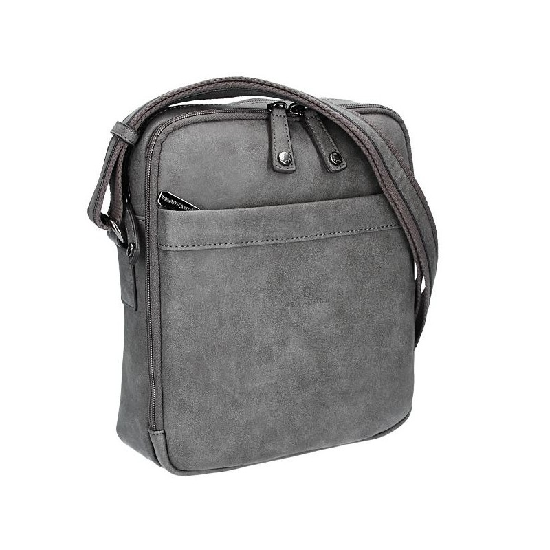 Pánská taška na doklady Hexagona 784629 - šedá