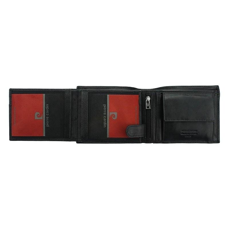 Pánská kožená peněženka Pierre Cardin Edmond - černá