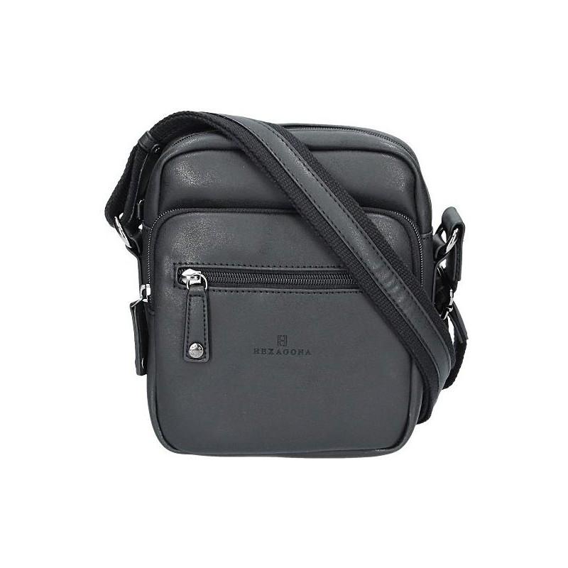 Pánská taška na doklady Hexagona 784628 - černá