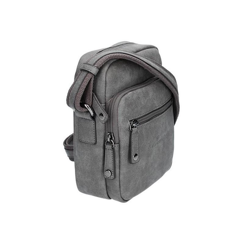 Pánská taška na doklady Hexagona 784628 - šedá