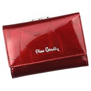 Dámská kožená peněženka Pierre Cardin Vierra - červená