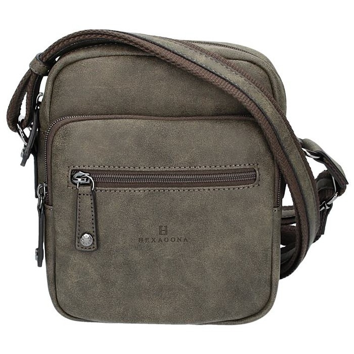 Pánská taška na doklady Hexagona 784628 - taupe