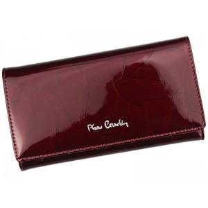 Dámská kožená peněženka Pierre Cardin Milena - vínová