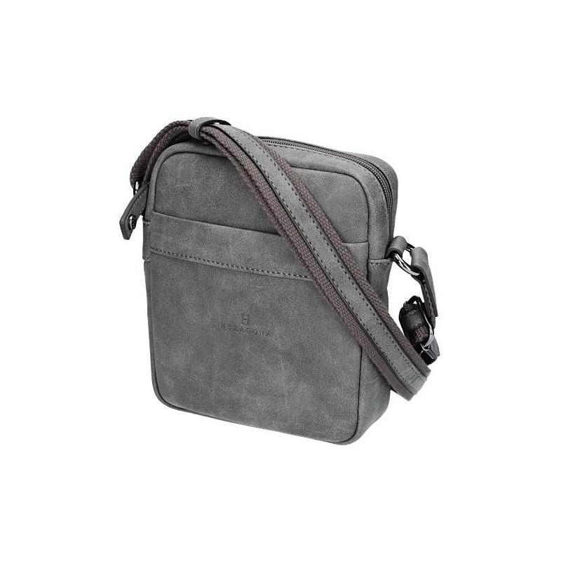 Pánská taška na doklady Hexagona 784636 - šedá