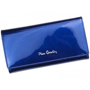 Dámská kožená peněženka Pierre Cardin Milena - modrá