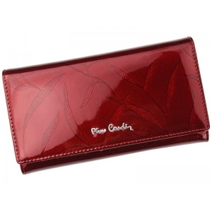 Dámská kožená peněženka Pierre Cardin Milena - červená
