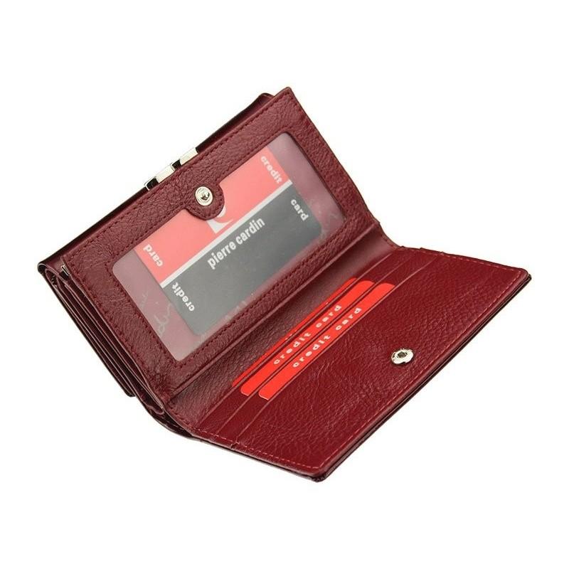 Dámská kožená peněženka Pierre Cardin Alberta - černá