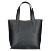 Dámská kožená kabelka Facebag Nina - černá