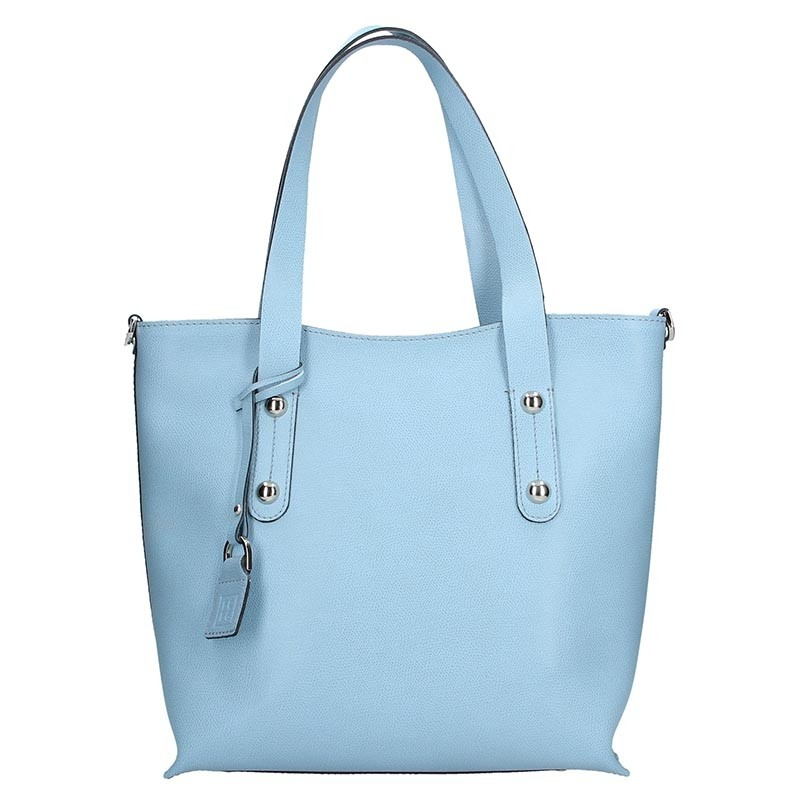 e37c12cd02 Dámská kožená kabelka Facebag Nina - modrá